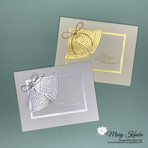 Stampin' Up! Forever Blossoms Stamp Set & Gingerbread  Dies - Mary Knabe