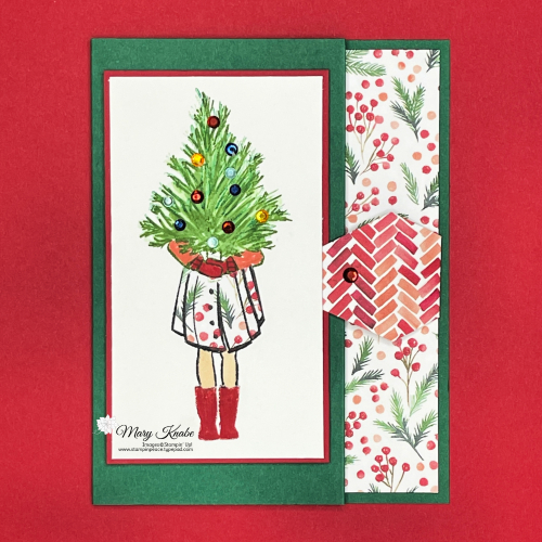 Stampin' Up! Delivering Cheer Stamp Set - Mary Knabe (7)